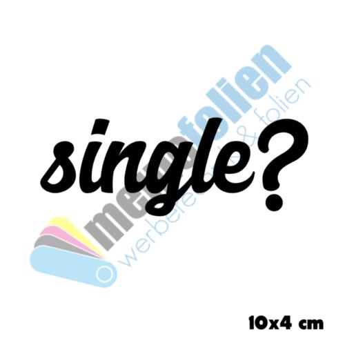 singleaufkleber